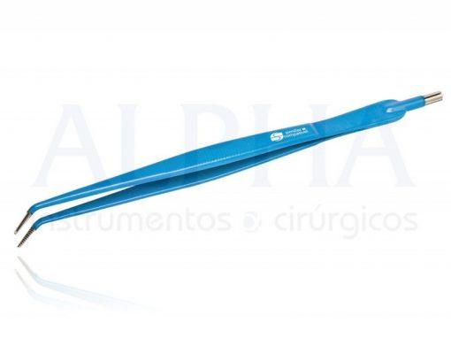 Pinça monopolar dissecção curva 14cm