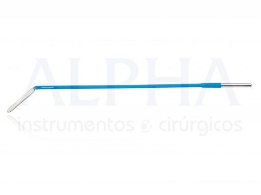 Eletrodo ponta faca angulo 45° - Corpo ø 2,38mm x 150mm