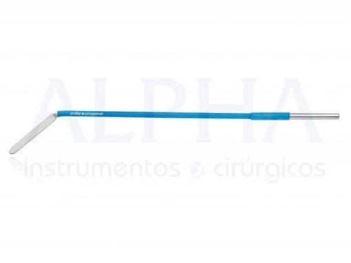 Eletrodo ponta faca ângulo 45° - Corpo ø 2,38mm x 120mm