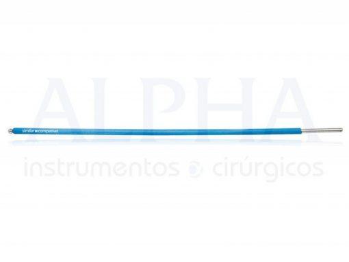 Eletrodo ponta bola - Corpo ø 1,60mm x 120mm - Ponta ø 2,0mm