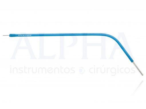 Eletrodo para otorrino ponta agulha reta - Corpo ø 1,60mm x 120mm