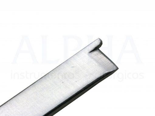 Cinzel com guia reto 6mm