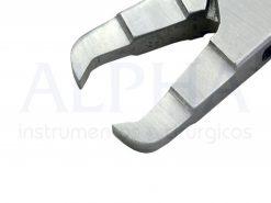 Alicate de ortodontia N° 346 - remoção de braquete curvo