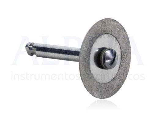 Disco diamantado médio para contra ângulo