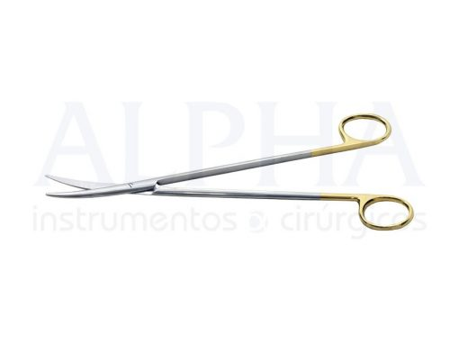 Tesoura Metzembaum curva 20cm