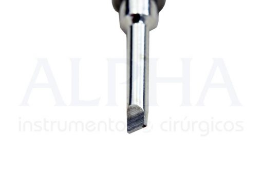 Chave protética torque curta fenda