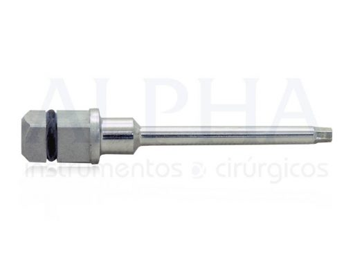 Chave protética torque longa 1.2 hexagonal