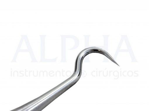 Colocador de elastick com sonda cabo 6mm