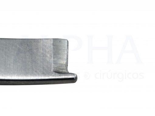Cinzel com guia curvo 6mm (par)