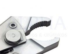 Alicate de pressão em aço inox (cirúrgico)