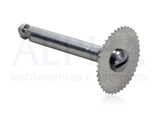 Disco Serrilhado Pequeno 8mm Para Contra Ângulo