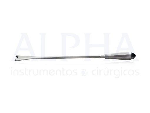Descolador de mama reto coração 26cm