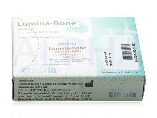 Osso para enxerto Lumina Bone 0,5g - Media