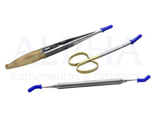 Protetor para ponta de instrumentais autoclavável (pacote com 10 unidades)