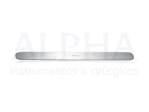 Espátula maleável 30x4,0cm
