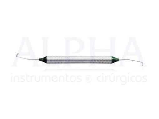 Cureta para levantamento de seio maxilar nº4 flexível
