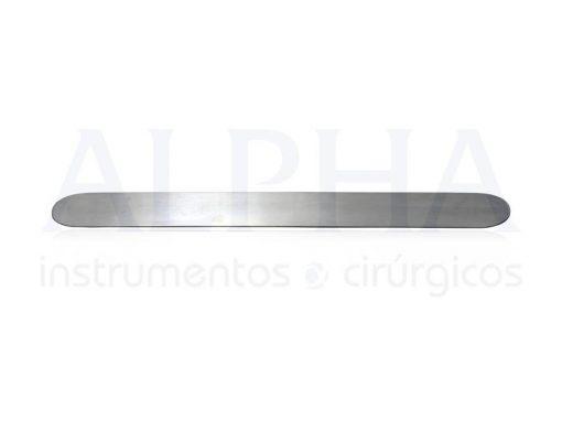 Espátula maleável 30x3,0 cm