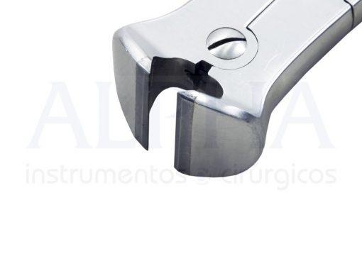 Alicate forte frontal 15cm com videa bi-articulado