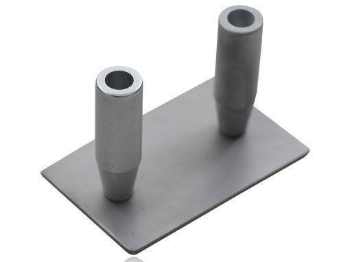 Decantador de gordura para seringa de 60ml duplo