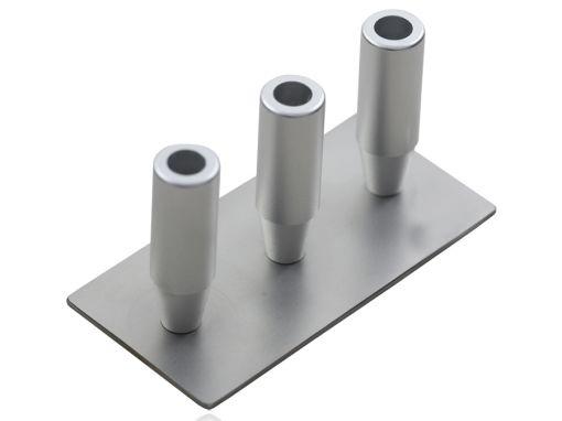 Decantador de gordura para seringa de 60ml triplo