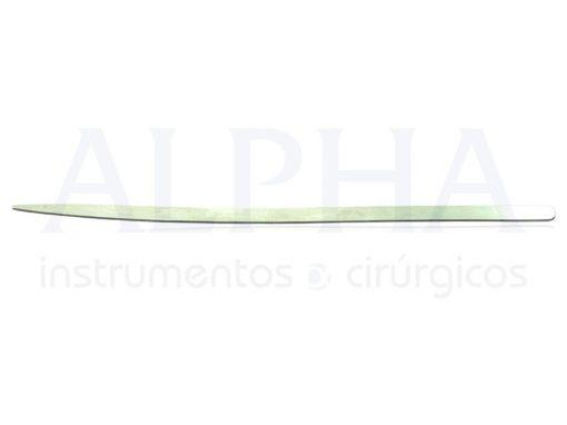 Espátula para palpebra nº1 18x0,7 cm