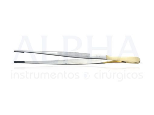 Pinça anatômica com videa delicada 20cm