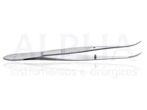Pinça iris curva 9 cm