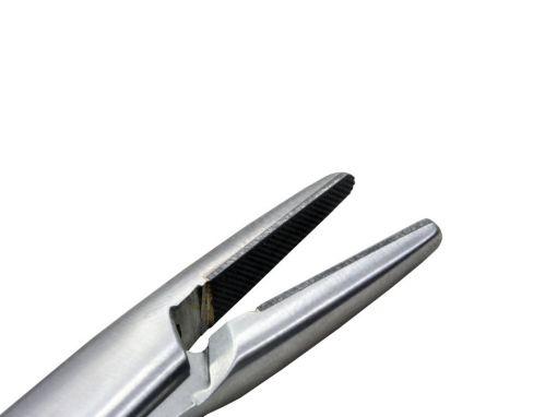 Porta agulha Mayo Hegar 18cm com videa