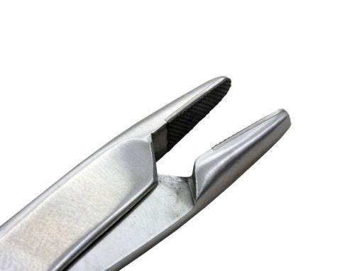 Porta agulha Olsen Hegar 18cm com ponta de videa