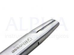 Porta agulha para fio de aço 16 cm com ponta de videa