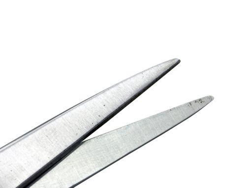 Tesoura Cirúrgica Fina Reta 15cm