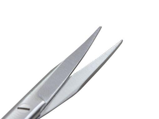Tesoura Goldmanfox curva 11 cm
