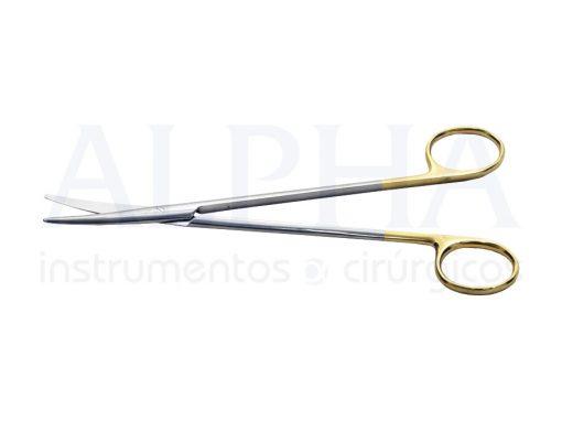 Tesoura Metzembaum curva 18cm