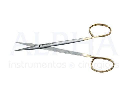 Tesoura Goldmanfox reta 14cm ribbon