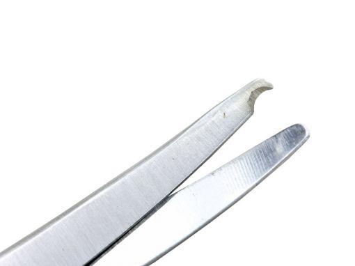 Tesoura Spencer curva 14cm ribbon