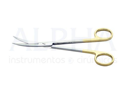 Tesoura Snolden curva 17cm