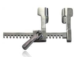 Afastador Finochietto neonatal 20x25mm - 7cm