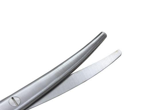 Tesoura Mayo Curva 17cm Dura Corte