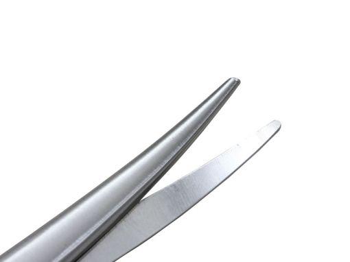 Tesoura Metzembaum curva delicada 16 cm
