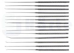 Kit de micro dissector de Rhoton (14 peças + estojo)