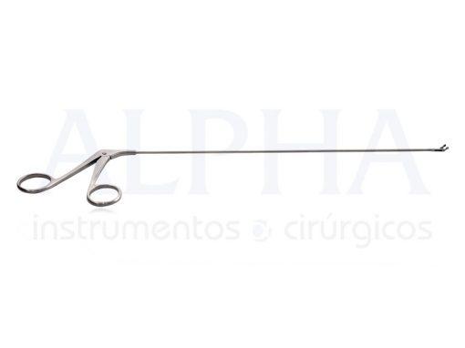 Pinça De Micro Laringe Sacabocado Angulado Direita