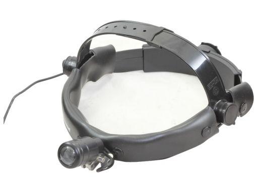 Foco de Luz (LED) – Fotóforo com suporte para a cabeça
