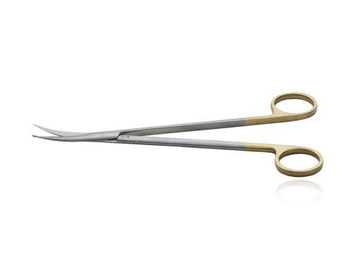 Tesoura Strully Curva Abotoada 18cm