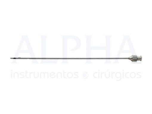 Cânula Seringa 20ml RH20 - 2mm x 15cm