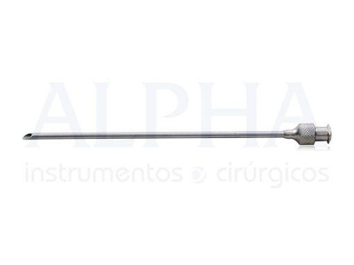 Cânula Seringa 20ml RH16 - 25mm x 10cm