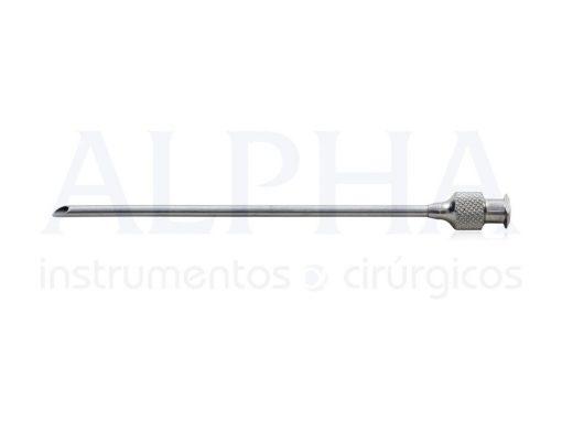 Cânula Seringa 20 ml RH15 - 25 mm x 08 cm