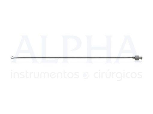 Cânula Seringa 20 ml RH09 - 3 mm x 20 cm