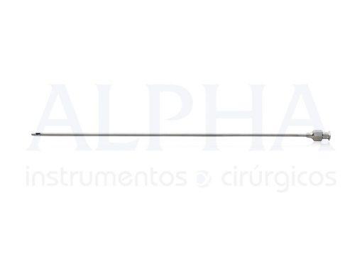 Cânula Seringa 20ml RH01 - 25mm x 20cm