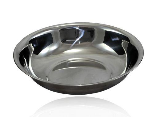 Bacia em Aço Inox 25 x 5,3 cm - 1500ml