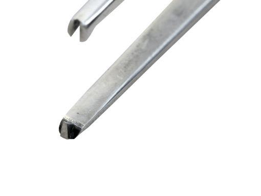 Pinça Baioneta Com Dente de Rato 21cm